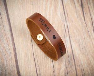 【送料無料】ブレスレット アクセサリ― パーソナライズブレスレットブレスレットpersonalized leather bracelet men id name personalized bracelet leather