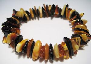 【送料無料】ブレスレット アクセサリ― バルトブレスレットマルチカラーbaltic amber bracelet multicolor