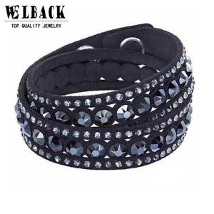 【送料無料】ブレスレット アクセサリ― ブレスレットラップas fr33581 2016 bijoux bracelet en cuir wrap femmes alliage de zinc multilayer