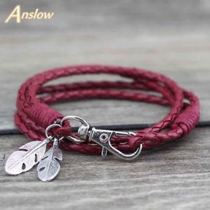 【送料無料】ブレスレット アクセサリ― ブレスレットレas fr33265 bijoux en cuir charm bracelet damitie pour les femmes alliage de zi