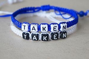 【送料無料】ブレスレット アクセサリ― ハンドメイドブレスレットカップルブレスレットブレスレットhandmade bracelet ,couple bracelet , taken bracelet,