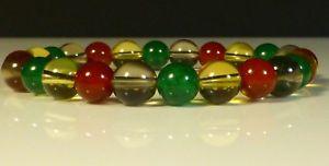 【送料無料】ブレスレット アクセサリ― シリトンブレスレットスモーキークオーツカネcitrine, bracelet, smoky quartz, carnelian agate