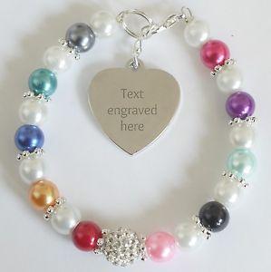 【送料無料】ブレスレット アクセサリ― アウェアネスブレスレットチャリティーengraved personalised all cancers awareness bracelet charity fundraising gift