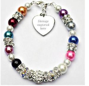 【送料無料】ブレスレット アクセサリ― サポートブレスレットチャリティーpersonalised engraved all any cancer support bracelet fundraising charity gift