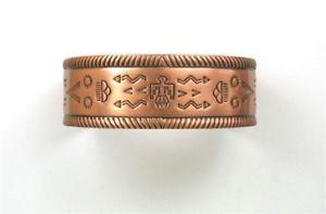 【送料無料】ブレスレット アクセサリ― カフサンダーバードブレスレットsolid copper cuff thunderbird bracelet