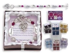 【送料無料】ブレスレット アクセサリ― ブレスレットmother mom love forever silver charm bracelet gift