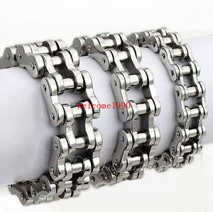 【送料無料】ブレスレット アクセサリ― ステンレスオートバイチェーンブレスレットホリデーchoose stainless steel motorcycle chain design bracelet friends holiday gift
