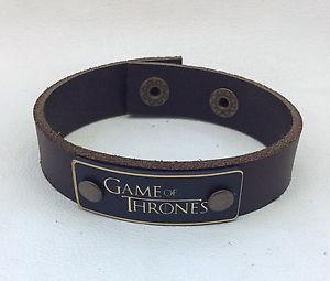 【送料無料】ブレスレット アクセサリ― ブレスレットゲームラップ game of thrones leather bracelet jewelry, wrist wrap, genuine leather