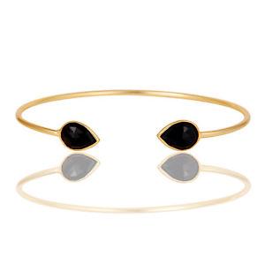 【送料無料】ブレスレット アクセサリ― ハンドメイドkゴールドメッキベゼルファッションカフブレスレットhandmade 18k gold plated brass gemstone bezel set fashion cuff bracelet