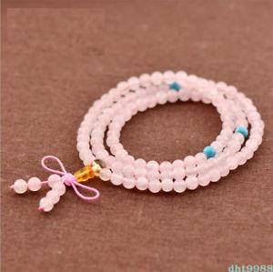 【送料無料】ブレスレット アクセサリ― マルチサークルビーズブレスレットnatural powder crystal multi circle 108 buddhism bead bracelet