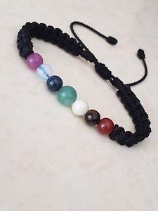 【送料無料】ブレスレット アクセサリ― ブレスレット7 gemstones bracelet adjustable