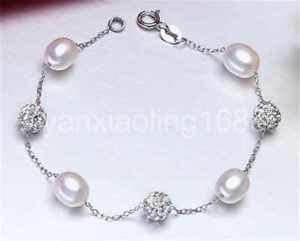 【送料無料】ブレスレット アクセサリ― ファッションブレスレットスターリングfashion charm bracelet pearl jewelry natural freshwater pearl 925 sterling silve