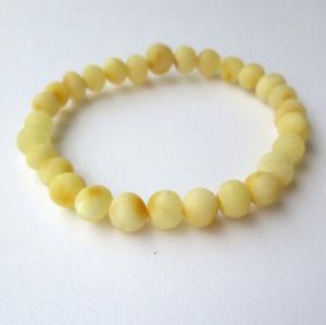 【送料無料】ブレスレット アクセサリ― バルトブレスレット65natural rounded unpolished baltic amber elastic stretch bracelet 65