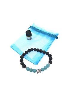 【送料無料】ブレスレット アクセサリ― ターコイズヒーリングブレスレットbuddha turquoise healing natural lava stone with essential oil bracelet