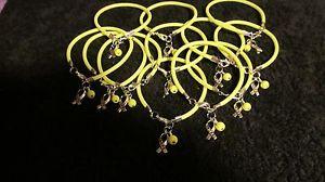 【送料無料】ブレスレット アクセサリ― サポートブレスレット1 dz yellow sarcoma bone cancersupport the troops hope bracelets * free ship