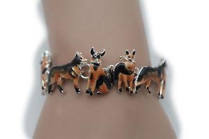 【送料無料】ブレスレット アクセサリ― ブレスレットファッションジュエリーペットwomen silver metal wrist bracelet fashion jewelry charm dog lover pet animal fun