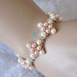 【送料無料】ブレスレット アクセサリ― 75 8 45mmブレスレット more colors75 8 45mm freshwater pearl bracelet ukmore colors