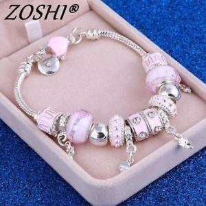 【送料無料】ブレスレット アクセサリ― ローズブレスレットパールargent rose bracelet pour femmes perles argent