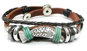 【送料無料】ブレスレット アクセサリ― ブレスレットグリーンチベットサーファーブレスレットレザー leather bracelet brownsilvergreen real leather tibet surfer bracelet leather angler