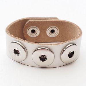 【送料無料】ブレスレット アクセサリ― ブレスレットホワイトプッシュボタンブレスレットメンズボタンブレスレット leather bracelet white push button bracelet real leather mens button bracelet
