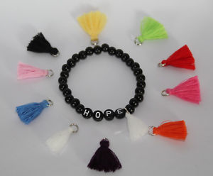 【送料無料】ブレスレット アクセサリ― ブレスレットビーズブレスレットリクエストパーソナライズタッセルbracelet armkette beaded bracelet with request name personalised tassel