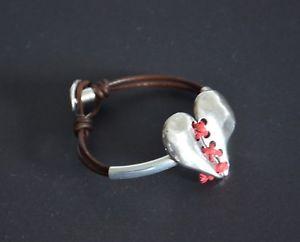 【送料無料】ブレスレット アクセサリ― ブレスレットleather braceletshandmadebracelet from the heartbest giftdesign summer