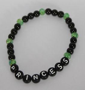 【送料無料】ブレスレット アクセサリ― ブレスレットリクエストブレスレット*グリーン*bracelet beaded bracelet with request name personalised * green * handmade