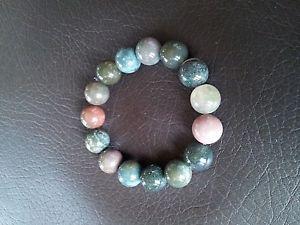 【送料無料】ブレスレット アクセサリ― ブレスレットブレスレットbracelet real stone bracelet natural gemstone nephrite agate