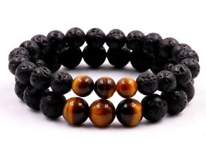 【送料無料】ブレスレット アクセサリ― メンパワーエネルギークリスタルブレスレットuk natural stone power bead energy crystal healing gemstone bracelet for men