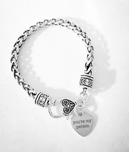 【送料無料】ブレスレット アクセサリ― チャームブレスレットベストクリスマスyoure my person charm bracelet best friend friendship sister christmas gift