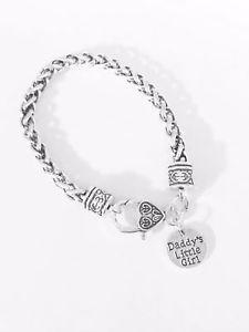 【送料無料】ブレスレット アクセサリ― クリスマスブレスレットgift for her daddys little girl daughter niece christmas gift charm bracelet