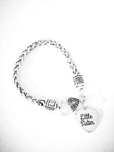 【送料無料】ブレスレット アクセサリ― ブレスレットクリスマスlittle sister charm bracelet christmas gift for sisters