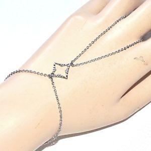 【送料無料】ブレスレット アクセサリ― チェーンステンレスパターンhand chain bracelet stainless steel ring carved pattern jewel