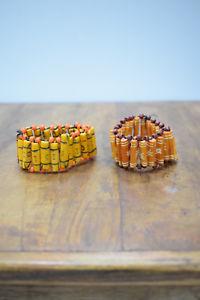 【送料無料】ブレスレット アクセサリ― ブレスレットブレスレットbracelet 2 assorted dyed bone tube bracelets