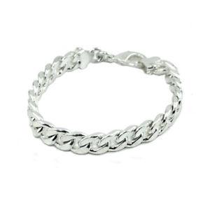 【送料無料】ブレスレット アクセサリ― メンズチェーンブレスレットスターリングシルバーファッションジュエリーchain bracelet for mens amp; womens sterling silver 925 fashion jewelry ba004