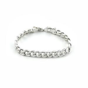【送料無料】ブレスレット アクセサリ― メンズチェーンブレスレットスターリングシルバーファッションジュエリーchain bracelet for mens amp; womens sterling silver 925 fashion jewelry ba008