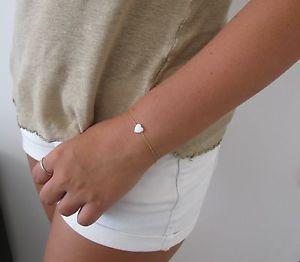 【送料無料】ブレスレット アクセサリ― オパールハートブレスレットブレスレットオパールビーズブレスレットゴールドブレスレットopal heart bracelet, gold bracelet, opal bead bracelet, gold bracelet