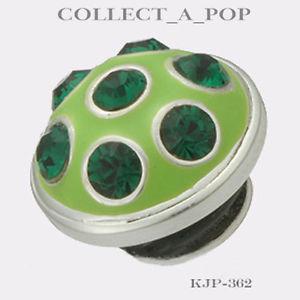 【送料無料】ブレスレット アクセサリ― kameleonスターリングディスコjewelpop kjp362*retired*authentic kameleon sterling silver disco lime jewelpop kjp362 *retired*