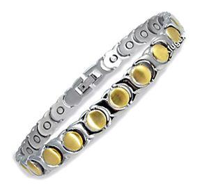 【送料無料】ブレスレット アクセサリ― ステンレススチールブレスレットmagnetic stainless steel bracelet drj262