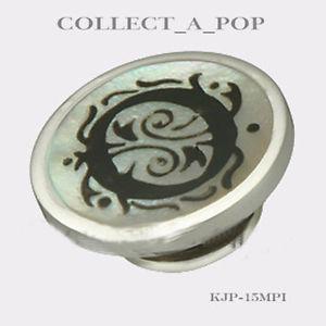【送料無料】ブレスレット アクセサリ― パールo jewelpop kjp015mpikameleonスターリングauthentic kameleon sterling silver letter of pearl o jewelpop kjp015mpi