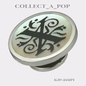 【送料無料】ブレスレット アクセサリ― x jewelpop kjp024mpikameleonスターリングパールauthentic kameleon sterling silver pearl of letter x jewelpop kjp024mpi