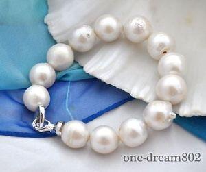 【送料無料】ブレスレット アクセサリ― keshi814mmrare huge 814mm round white reborn keshi pearl bracelet