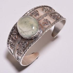 【送料無料】ブレスレット アクセサリ― クリスマスイブアジャスタブルカフハンドメイドchristmas eve 57ct real prehnite adjustable cuff silver plated handmade jewelry