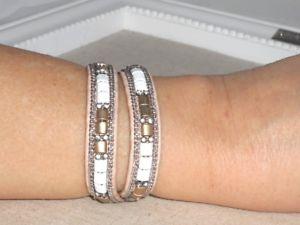 【送料無料】ブレスレット アクセサリ― ステラドットタンラップブレスレットstella amp; dot cady wrap tan bracelet gently preloved