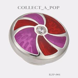 【送料無料】ブレスレット アクセサリ― スターリングシルバーエナメルベリーauthentic kameleon legacy sterling silver enamel tailspin berry jewelpop kjp901