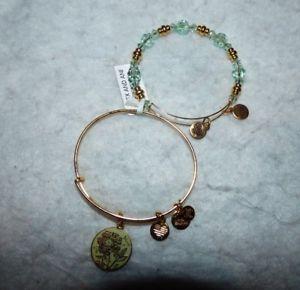 【送料無料】ブレスレット アクセサリ― アレックスカラーブレスレットゴールドセットビーズalex and ani mom color infusion duo bracelet set gold beaded nwt