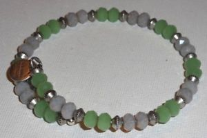 【送料無料】ブレスレット アクセサリ― アレックスブレスレットビンテージエネルギービードラップブレスレットalex and ani bracelet vintage 66 energy green crystal bead wrap bracelet