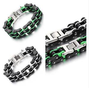 【送料無料】ブレスレット アクセサリ― ゴシックステンレスmensオートバイチェーンブレスレット16mm866brand gothic biker stainless steel mens motorcycle chain bracelet 16mm 866