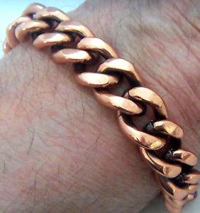 【送料無料】ブレスレット アクセサリ― ブレスレットリンクcopper bracelet 9 18 linked wheeler sciatcia arthritis healing folklore cb 292
