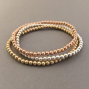 【送料無料】ブレスレット アクセサリ― ビーズボールブレスレットゴールドフィルローズゴールドbeaded ball bracelet available in gold fill, rose gold fill, or sterling silver